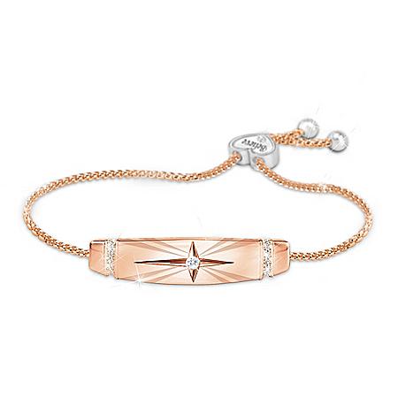 Trust In The Lord Women's Religious Healing Bolo Bracelet