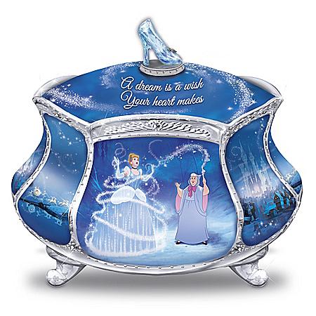 Disney Cinderella's Dream Heirloom Porcelain Music Box