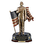 President Obama Cold-Cast Bronze Talking Tribute Sculpture