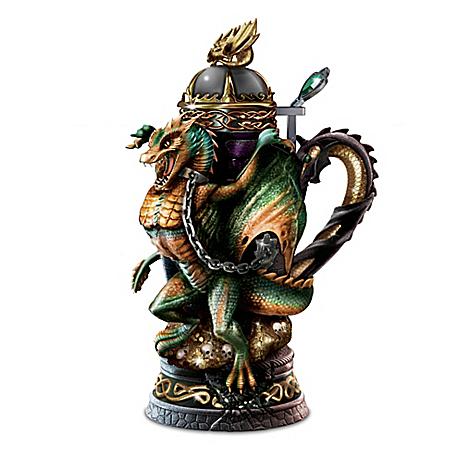 Dragon's Wrath Heirloom Porcelain Masterpiece Stein