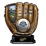 Kansas City Royals 50th Season Commemorative MLB Cold-Cast Bronze Glove Sculpture
