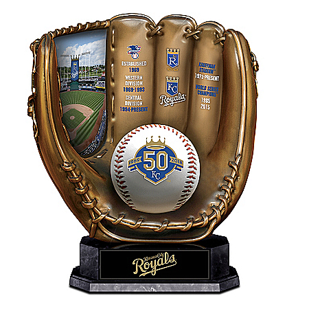 Kansas City Royals Cold Cast Bronze Sculpture Commemorating 50 Years: 1 of 5000