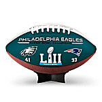Philadelphia Eagles Super Bowl LII Champions NFL Commemorative Football