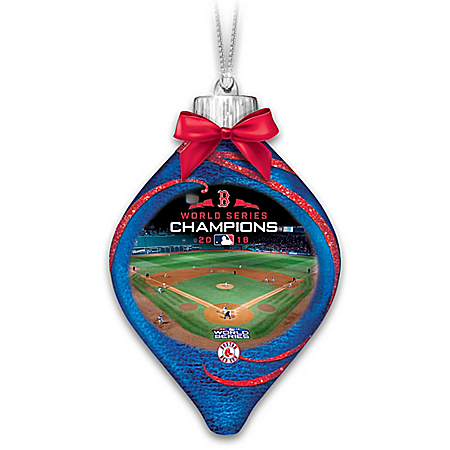 Red Sox 2018 World Series Champions Lighted Ornament