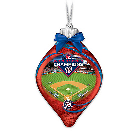 Nationals 2019 World Series Champions Lighted Ornament