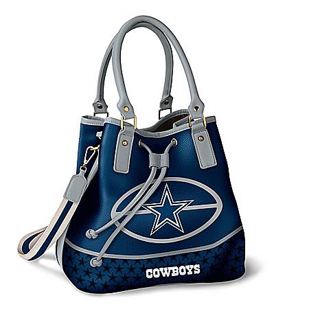 Dallas Cowboys Women's NFL Bucket-Style Handbag