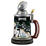 Philadelphia Eagles Super Bowl LII Champions NFL Stein