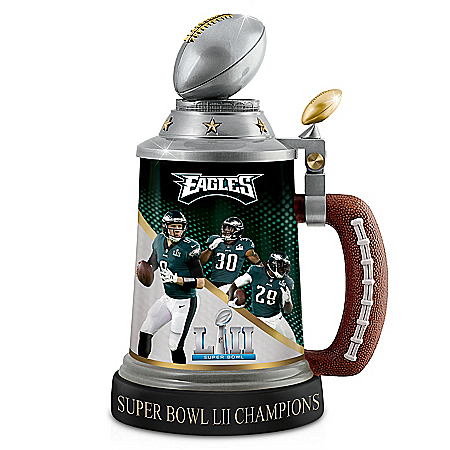 Philadelphia Eagles Super Bowl LII Champions NFL Stein