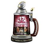 Alabama Crimson Tide 2017 Football National Championship Porcelain Stein