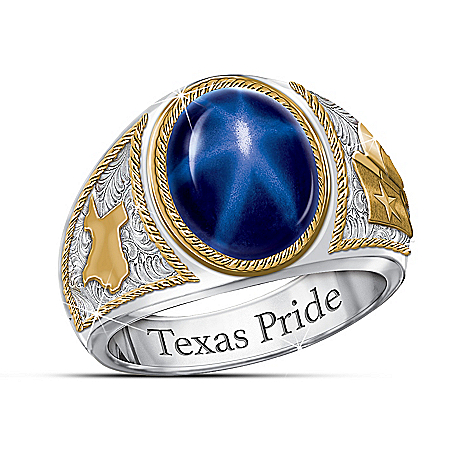 The Lone Star Texas Tribute Men's Ring