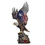 Texas Pride Eagle Sculpture