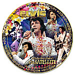Elvis Presley Aloha From Hawaii Commemorative Heirloom Porcelain Collector Plate