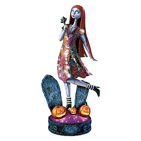 The Nightmare Before Christmas Illuminated Sally Sculpture