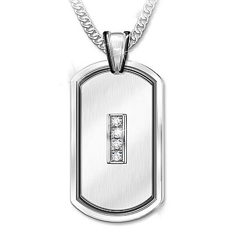 My Husband, My Friend Handcrafted Personalized Diamond Pendant Necklace – Personalized Jewelry