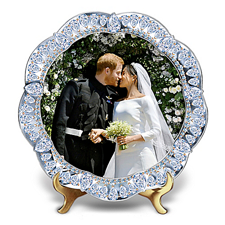 Prince Harry and Meghan Markle Royal Wedding Commemorative Collector Plate