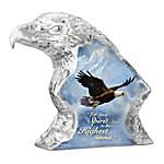 Ted Blaylock Highest Summit Crystalline Eagle Sculpture