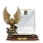 Army Honor Personalized Eagle Sculpture