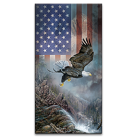 Ted Blaylock Light Of Freedom Illuminated Patriotic Wall Decor