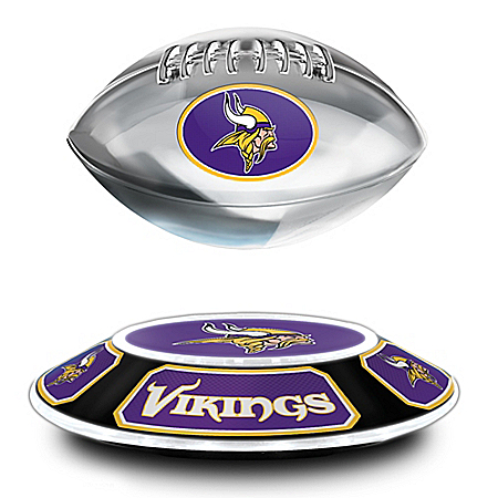 Minnesota Vikings Merchandise - NFL Levitating Football