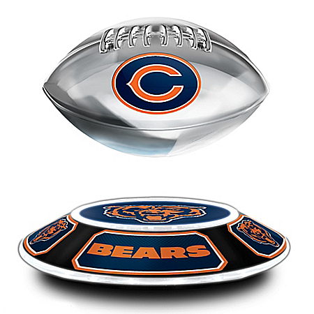 Chicago Bears NFL Levitating Football
