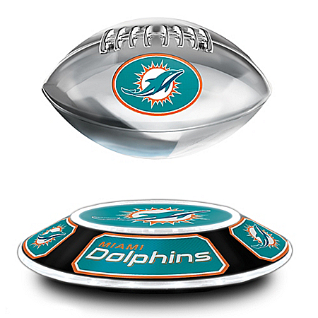 Miami Dolphins NFL Levitating Football