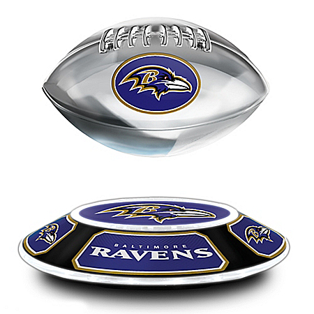 Baltimore Ravens NFL Levitating Football