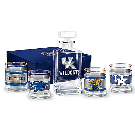 University Of Kentucky Wildcats Legacy Glassware Set