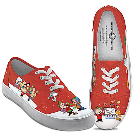 PEANUTS A Charlie Brown Christmas Women's Canvas Shoes