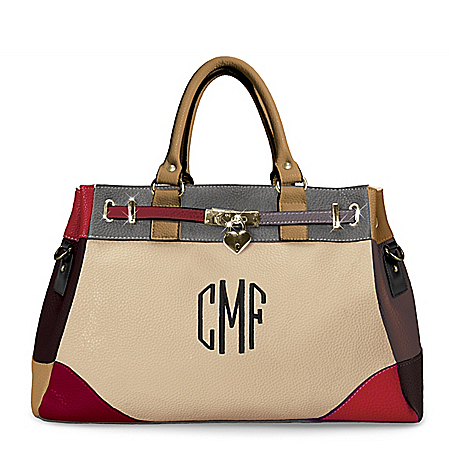 My Personal Style Women's Personalized Monogrammed Fashion Handbag