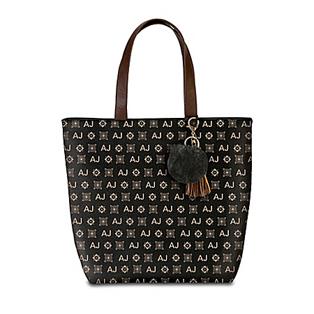 Just My Style Personalized Initials Women's Fashion Tote Bag