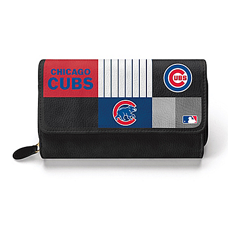 For The Love Of The Game Chicago Cubs Women's MLB Fashion Wallet