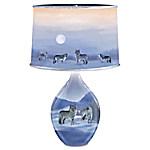Eddie LePage Majesty By Moonlight Lamp