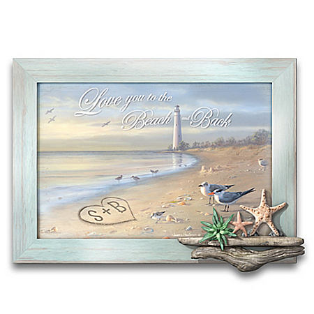 James Hautman To The Beach And Back Personalized Wall Decor