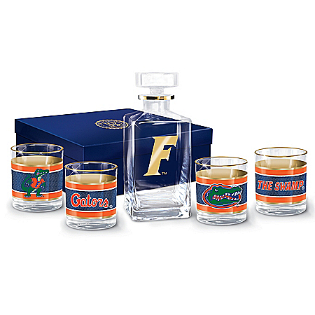 University Of Florida Gators Legacy Glassware Set