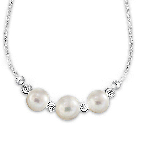 Generations Of Love Women's Freshwater Cultured Pearl Necklace