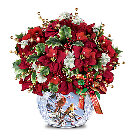 Bradley Jackson Winter Retreat Illuminated Centerpiece