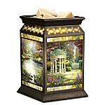 Thomas Kinkade Serenity Garden Wax Warmer With Vanilla Scented Wax Melts