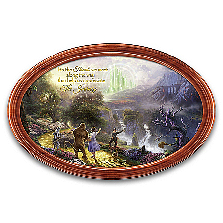 WIZARD OF OZ 80th Anniversary Masterpiece Collector Plate