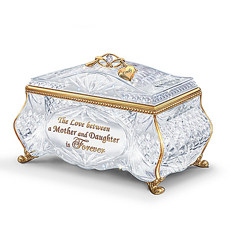 Image of Facets Of Love Personalized Music Box - Personalized Jewelry