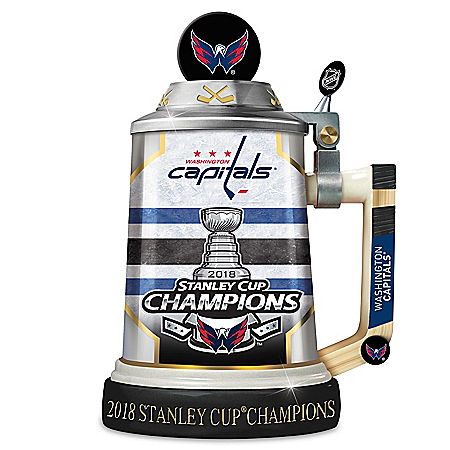 NHL Washington Capitals 2018 Stanley Cup Champions Porcelain Stein: 1 of 2018