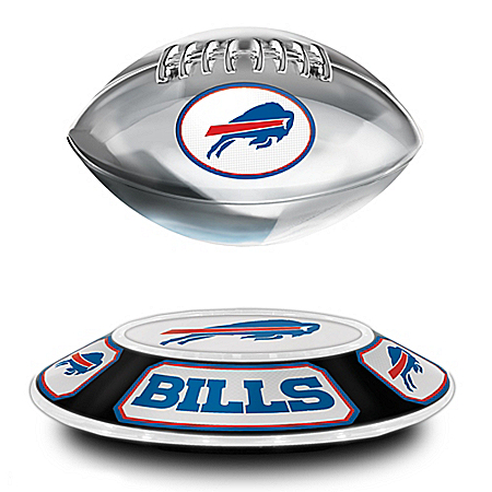 Buffalo Bills NFL Illuminated Levitating Football