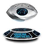 Carolina Panthers Levitating NFL Football