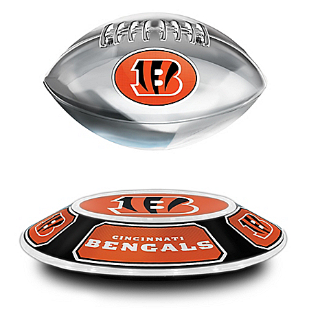 Cincinnati Bengals Levitating NFL Football
