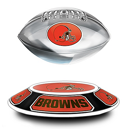 Cleveland Browns Levitating NFL Football
