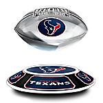 Houston Texans Levitating NFL Football