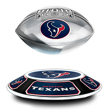 Houston Texans Levitating NFL Football