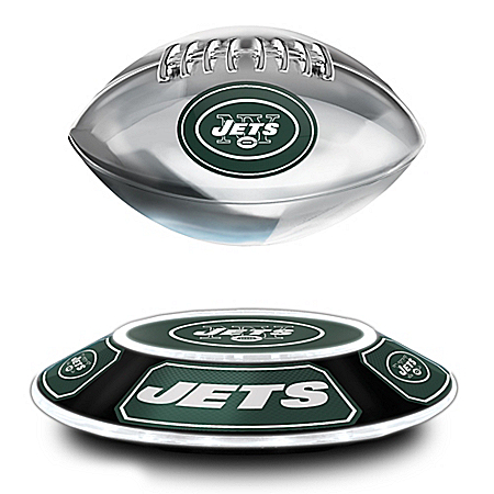 New York Jets Levitating NFL Football
