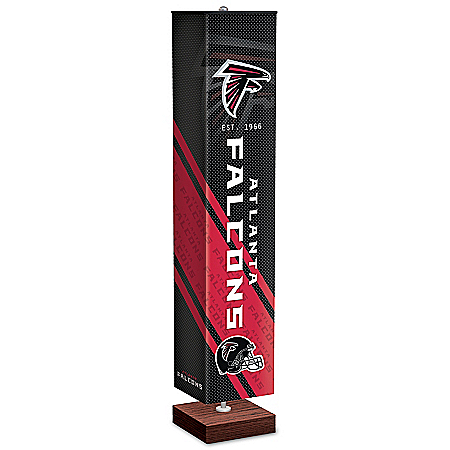 Atlanta Falcons NFL Floor Lamp With Foot Pedal Switch