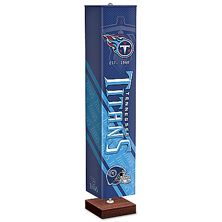 Tennessee Titans NFL Floor Lamp With Foot Pedal Switch