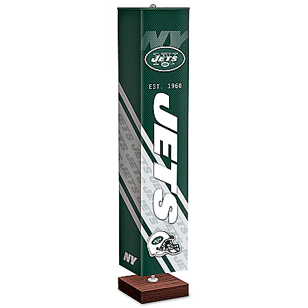 New York Jets NFL Floor Lamp With Foot Pedal Switch
